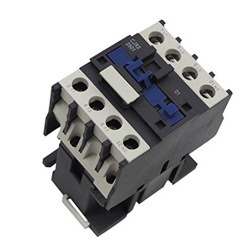 MagiDeal Cjx2-2501 AC Schütz Motor 50/60Hz Spule 3-Phasen-1nc Ersatz - 24V (Coil Ersatz-motoren)