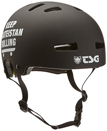 TSG Helm Evolution Charity, schwarz (Skateistan 75053-55-312), L/XL, 75053-55-312