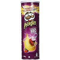 Pringles Texas BBQ Sauce, sabor barbacoa 165g, paquete de 4
