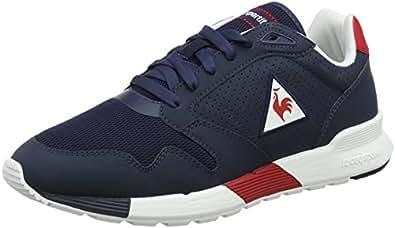 Herren Cernay Leather/Chambray Sneaker, Blau (Dress Blue Bleu), 40 EU Le Coq Sportif