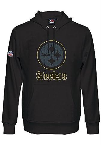 Majestic HEATHLY Hoody - NFL Pittsburgh Steelers noir
