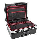 STIER Werkzeugkoffer Trolley, leer und unbestückt, 6,5kg, hochwertig und aus ABS und Aluminium, mit