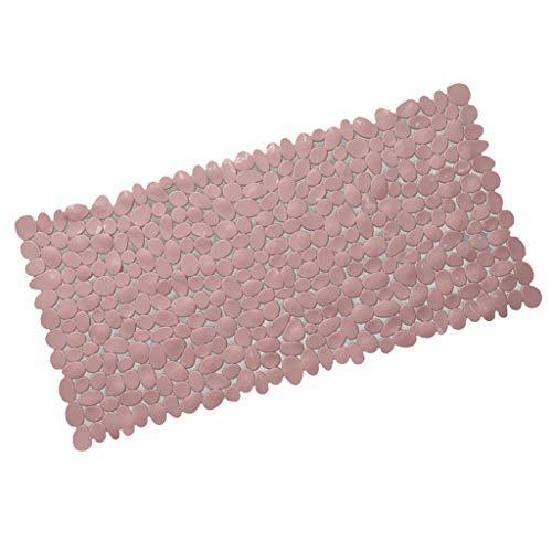 Baoblaze Badematten Rutschfest Bad-Teppich Matten Duschmatte für Badezimmer, 70 cm x 36 cm - Rosa