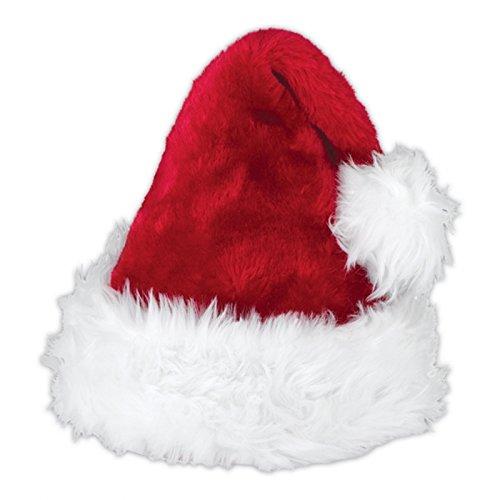 Kostüm Santa Deluxe - Erwachsene Deluxe Santa Claus Hut Kostüm Zubehör