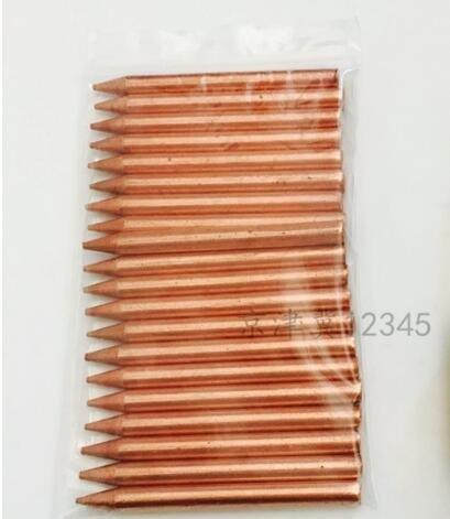 TURBO PRO 20pieces Körper Punktschweißung Nadeln Spotter Bolzenschweißer Gun Spitze Auto Karosserie Dent Repair Fix Zubehör Tabelle Metall Panel (Beschichtete Metall-tabellen)