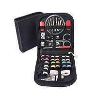 Pegcduu 68pcs Sewing Set Multi-function Home Essential Thread Scissors Quilting Kit DIY Hand Craft Sewing Repair Tools