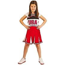 Disfraz de animadora simpática para niña - 10-12 años