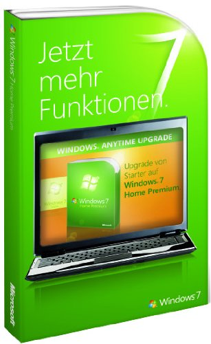Windows 7 Anytime Upgrade - Starter auf Home Premium (Produktschlüssel) Starter Netbook
