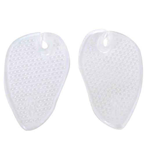 Generic 1 Paire Massage Demi - Semelles Coussinets Séparateurs d'Orteil en Gel Silicone Pour Tongs Sandales