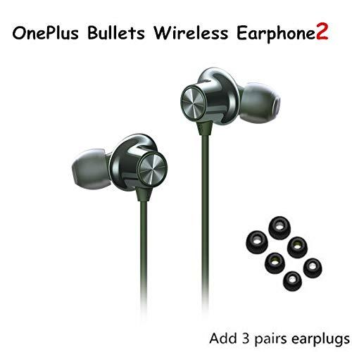 Bluetooth Kopfhörer,Sports Kopfhörer Ipx7 wasserdicht, 9h Spielzeit, magnetisches Design Hd Stereo Sound, In Ear Wireless Kopfhörer mit Noise-Cancelling Mikrofon zumLaufen,Joggen,Grün,Ohrstecker