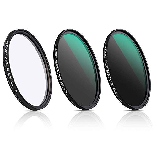 K&F Concept 77MM MRC Super Slim CPL Filter Circular Polarizer Filter+ND8 ND64 Filter Neutral Dichte Graufilter