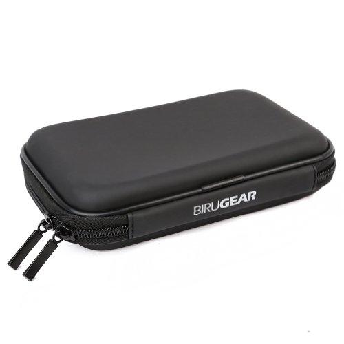 Preisvergleich Produktbild BIRUGEAR Hartschalentasche aus EVA-Stoff: Hard Drive Schtuzhülle in Schwarz für tragbare externe Festplatten 2,5 Zoll (6,4 cm)
