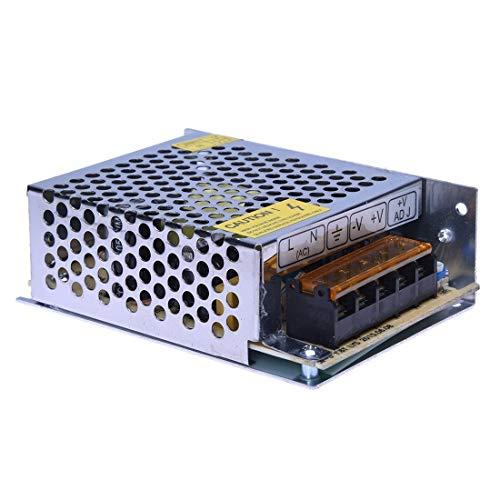 Fuente de alimentación, 12 V, para tira LED con transformador 5 A, estabilizado, 220 V, 60 W