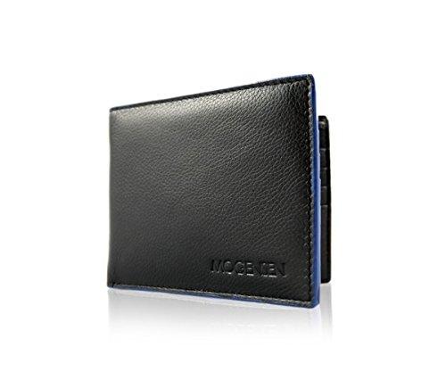 MOGENSEN Lysbro RFID a portafoglio in vera pelle (nero) 7243e278b462