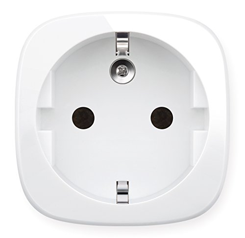 Elgato Eve Energy - Sensor inalámbrico de electricidad e interruptor con la tecnología Apple HomeKit, Bluetooth Low Energy, color blanco
