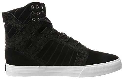 Supra Skytop, Haute Sneakers Homme Schwarz (Black Cayman)