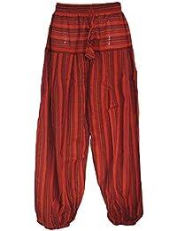 Fair Trade Nepalese Stripy Hippy Festival Trousers