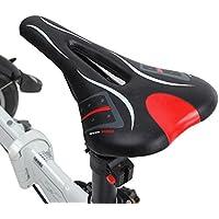 MaMaison007 All'aperto biciclette bici ciclismo V forma spugna sedile sella Hollow sella - nero - Atletica Sedile