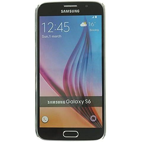 3Q Funda Samsung Galaxy S6 Carcasa Novedad Mayo 2016 Diseño Suizo Funda Galaxy S6 Transparente y Bumper