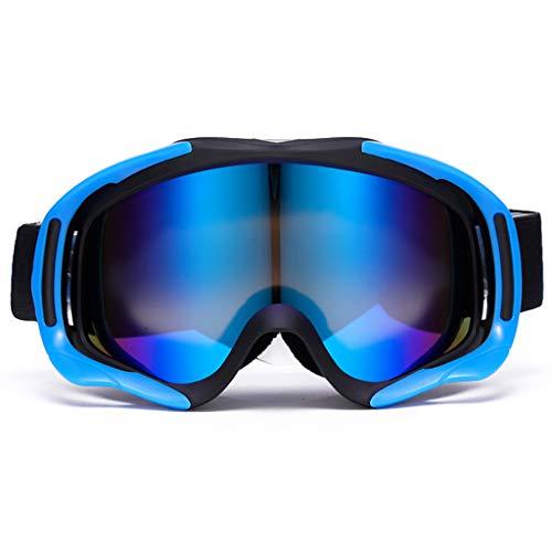 Doppel-Anti-Fog Skibrille Karte Myopie Ski Brille Bergsteigen große Zylinder Skiausrüstung (Farbe : B)