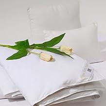 Sancarlos - Edredon plumas decasa - densidad 250 g - 30% plumón de pato - cama 105, 180x220 cm - blanco