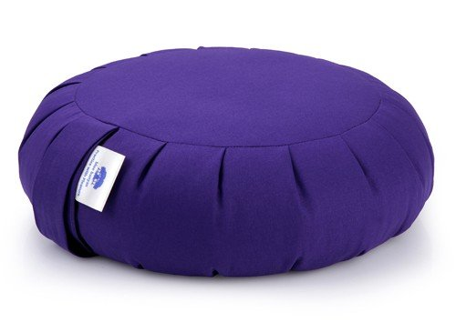 Blue Banyan Zafu Coussin de méditation sarrasin - Violet