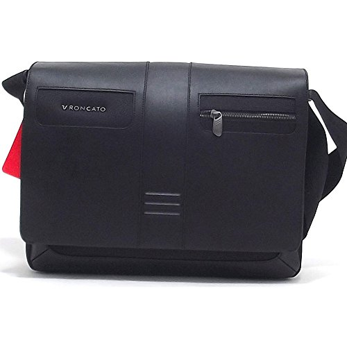 "Cartella Messenger Roncato | Porta Pc 15,6"" | Linea Heritage | 400223-nero"