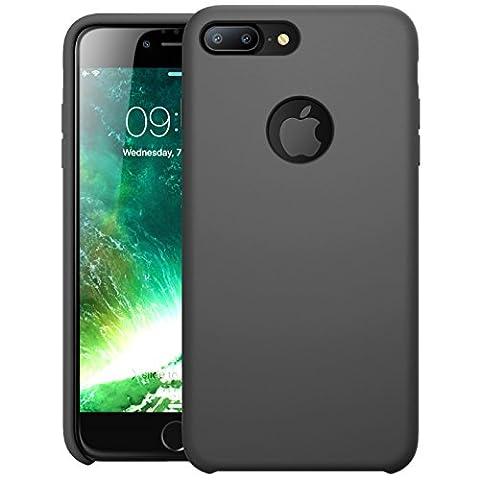 Coque iPhone 7 Plus, Coque iPhone 8 Plus, i-Blason Coque Silicone Antichoc [flexible] [absorbe les (Silicon Schermo Pelle Della Protezione)
