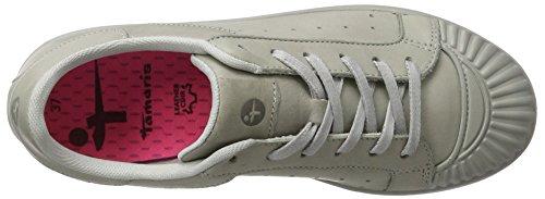 Tamaris Damen 23637 Sneaker Grau (LIGHT GREY 204)