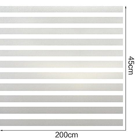 HXSS gel stripe verre statique film non-adhésif 45 Mammoth 2 pas
