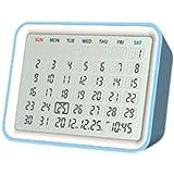 Date Ewiger Kalender (Weiß/Blau)