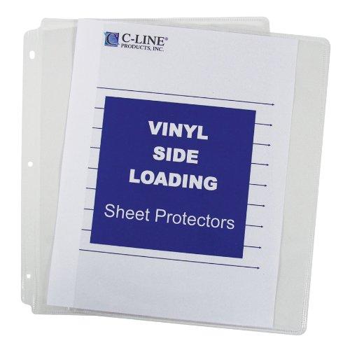 produits-c-line-61313-chargement-lat-ral-feuille-de-vinyle-protecteur-effacer-11-x-85-50-par-bo-te