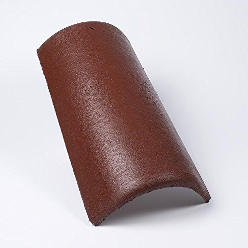 tegola-di-cresta-alpina-classic-rossastro-scuro-protector-marrone-surface-confezione-da-1pz
