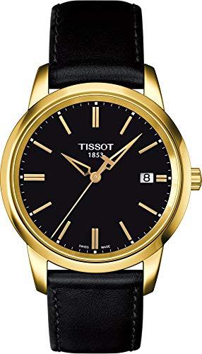 Tissot Classic Dream Gent T0334103605100 - Reloj de caballero de cuarzo, correa de piel color negro