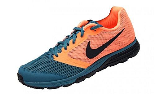 1363O sneaker uomo NIKE ZOOM FLY arancione/verde petrolio shoe men Arancione/Grigio