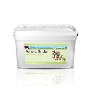 Eggersmann Mineralergänzungsfuttermittel, Mineral Bricks, Mineral Bricks für Pferde, 1-er Pack (1 x 4 kg)
