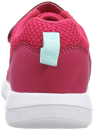 Kappa Speed 2.1 K, Baskets Basses Mixte Enfant Rose (Pink/mint)