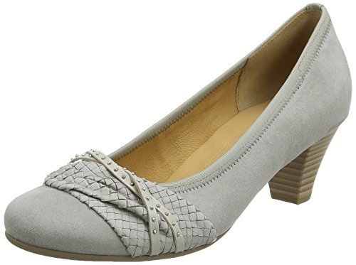 Gabor  Gateway,  Damen Pumps , Grau - Grau (Graues Wildleder) - Größe, 38 1/2 EU ( 5.5 UK ) -