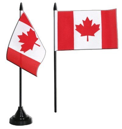 Canada Table Flag 4 x 6 inch by Digni