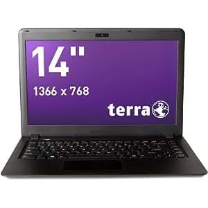ordinateur portable terra 1415 compact 14 pouces noir 1 5kg 2 1cm d 39 paisseur 6 heures auto. Black Bedroom Furniture Sets. Home Design Ideas