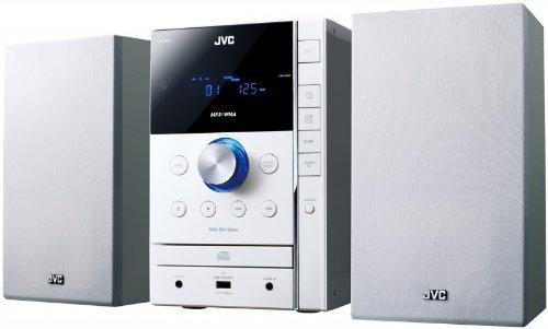JVC UX-G395WE 2-Wege CD-Microsystem (MP3/WMA-Player, FM-Tuner, AUX-IN,