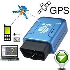 SLB Works Brand New Car Auto OBD II OBD2 GPS Realtime Tracker Mini Spy Tracking Device GSM GPRS