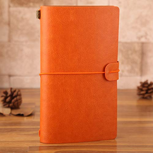 Traveler notebook traveler A6 book diary notes school supplies of engraved stationery