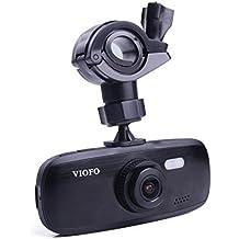 VIOFO G1W-S Dashcam para coches Cámara de coche DVR para grabar mientras se conduce Full 1080P HD video y audio, capacidad para filmar con sensores G, NT96650 + Sony IMX323 (Con GPS)