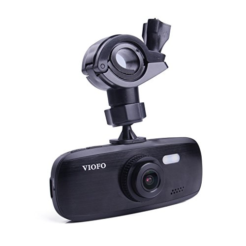 VIOFO G1W-S Auto Armaturenbrett Kamera DVR Autokamera Dashcam Fahrt Rekorder - Full 1080p HD Video & Audio Aufnahme, Loop-Aufnahme, G-Sensor, NT96650 + Sony IMX323 (Ohne GPS-Funktion) (Car Audio Kondensator Batterie)
