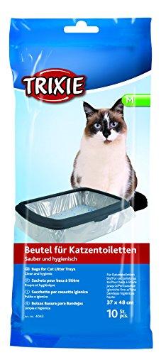 Trixie Katzentoilettenbeutel, M: bis 37 × 48 cm, 10 St.