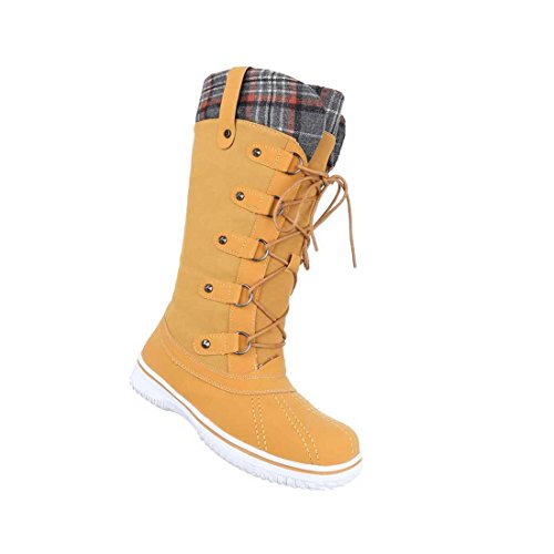 Damen Stiefel Schuhe Schnürer Boots Schwarz Camel Rot 36 37 38 39 40 41 Camel