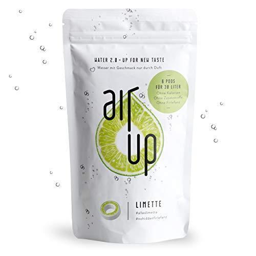 """air up® Duft-Pods \""""Limette\"""" für air up® Trinkflasche im 6er Pack für 30 Liter Geschmack"""