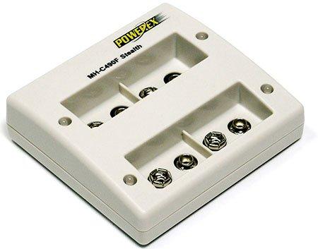 Powerex-Mh-C490F-Caricabatterie Microprocessore, Specifico Per Batterie Ricaricabili Nimh Del Tipo 9 V