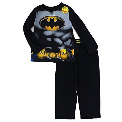 Batman-Nios-Manga-Larga-Pijama-Poly-con-capa